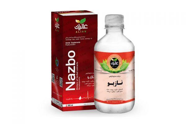 معجون نازبو کمخونی عالیان پخش محصولات گیاهی بهشت سلامت beheshtsalamat
