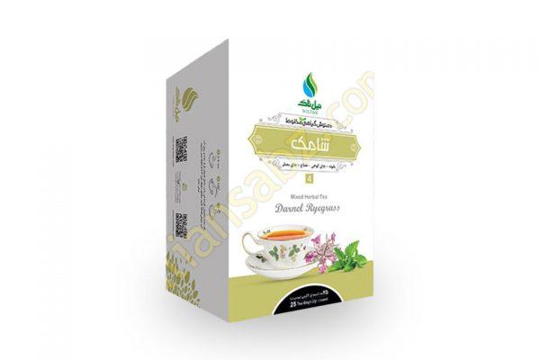 مشخصات و قیمت خرید دمنوش و چای ترکیبی شامک نیل تاک با خواص درمانی تقویت مده،ضد نفخ، ورم و ریفلاکس معده از فروشگاه محصولات گیاهی دارویی بهشت سلامت