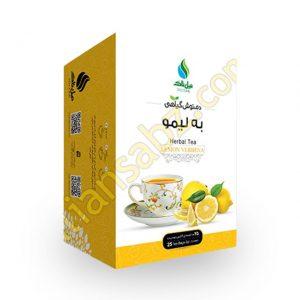 مشخصات و قیمت خرید دمنوش تی بگ به لیمو نیل تاک با خواص درمانی برای سرفه-سردرد-میگرن و آرام بخش از فروشگاه محصولات گیاهی دارویی بهشت سلامت