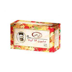 مشخصات و قیمت خرید صابون 12 گیاه ان جی-ناجیان-با خاصیت تقویت کننده ریشه و پیاز مو-ضد ریزش مو-ترمیم موهای آسیب دیده-رفع موخوره و درمان شوره و چربی پوست سر از فروشگاه محصولات گیاهی دارویی بهشت سلامت