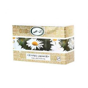مشخصات و قیمت خرید صابون گل بابونه ان جی-ناجیان-با خاصیت مرطوب کننده نرم کننده پوست-ترمیم کننده و تقویت کننده پوست و مو-ضد التهاب-ضد آکنه و درمان اگزما و جوش از فروشگاه محصولات گیاهی دارویی بهشت سلامت