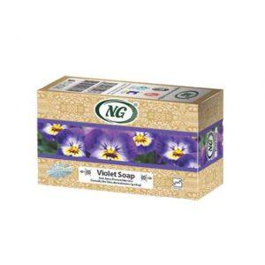 مشخصات و قیمت خرید صابون گل بنفشه ان جی-ناجیان-با خاصیت مرطوب کننده نرم کننده پوست-ترمیم کننده و تقویت کننده پوست و مو-ضد التهاب و درمان اگزما از فروشگاه محصولات گیاهی دارویی بهشت سلامت