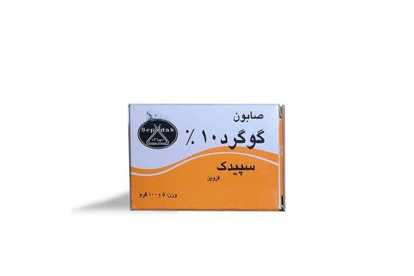مشخصات و قیمت خرید صابون گوگرد 10% سپیدک ضد جوش و آکنه از فروشگاه محصولات گیاهی دارویی بهشت سلامت