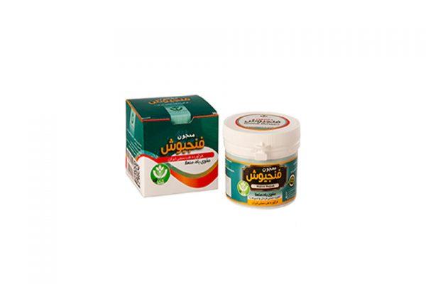 مشخصات و قیمت خرید معجون فنجیوش شفای کردستان با خواص درمانی برای اختلالات نعوظ- تقویت جنسی آقایان-اسپرم زا-تقویت قوه باء از محصولات گیاهی بهشت سلامت
