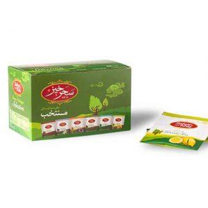 مشخصات و قیمت خرید دمنوش چای سبز منتخب سحرخیز-با خواص کاهش وزن-تقویت و سلامت استخوان- کاهش وزن و لاغری-تقویت حافظه-تنظیم کلسترول و تقویت سیستم گوارش از محصولات بهشت سلامت